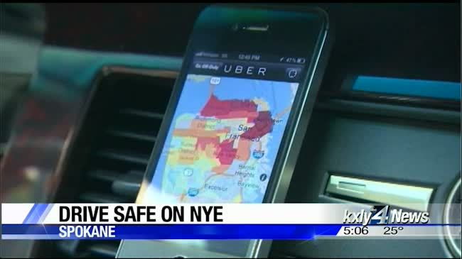 Driving safely on New Year's Eve