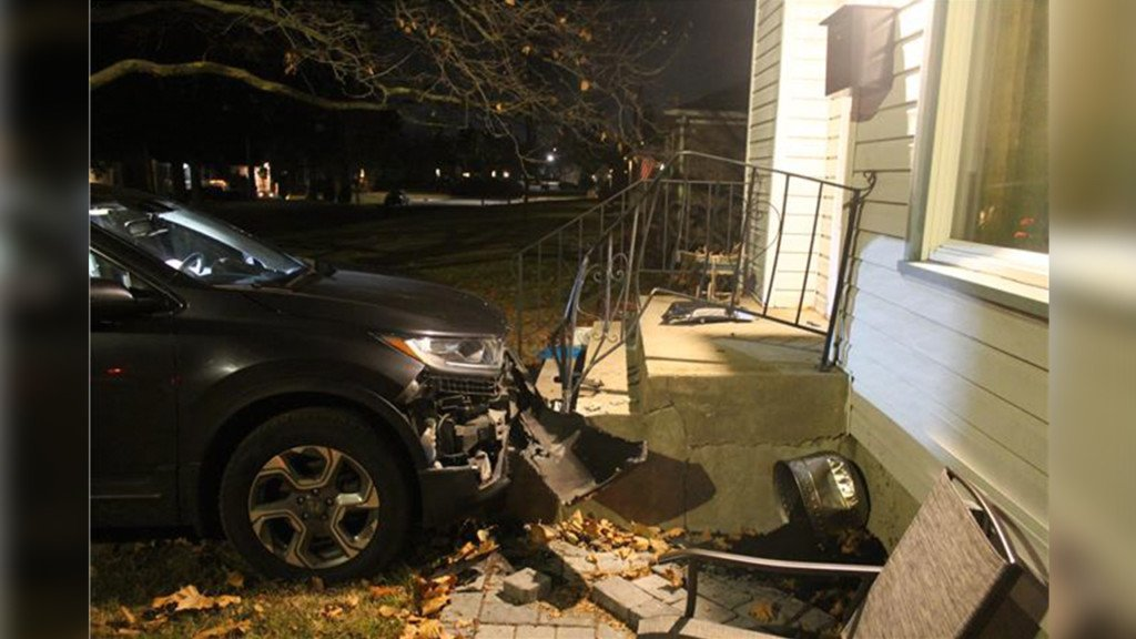 Police: Man drives car into South Hill home, arrested for DUI