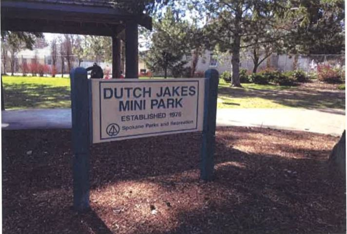 City asks for help with Dutch Jake's park revitalization