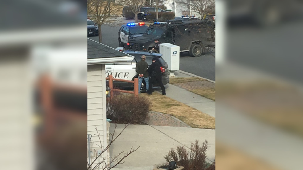 S. Spokane SWAT standoff ends with one arrested, no one hurt