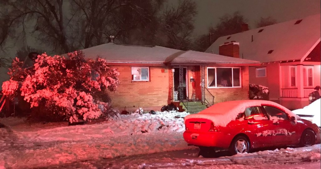 2 adults, 2 dogs displaced by early morning house fire