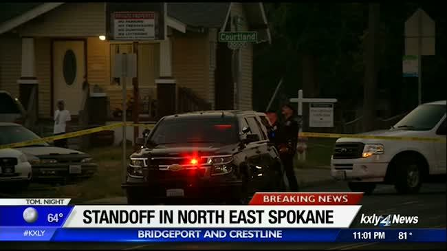 East Spokane standoff linked with earlier drive-by shooting