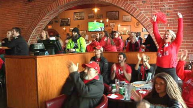 Eag fans flock to FCS Championship watch parties
