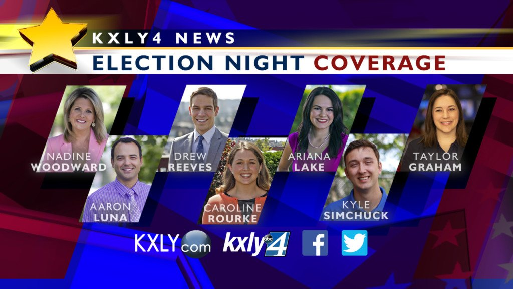 Connect with KXLY4 on election night