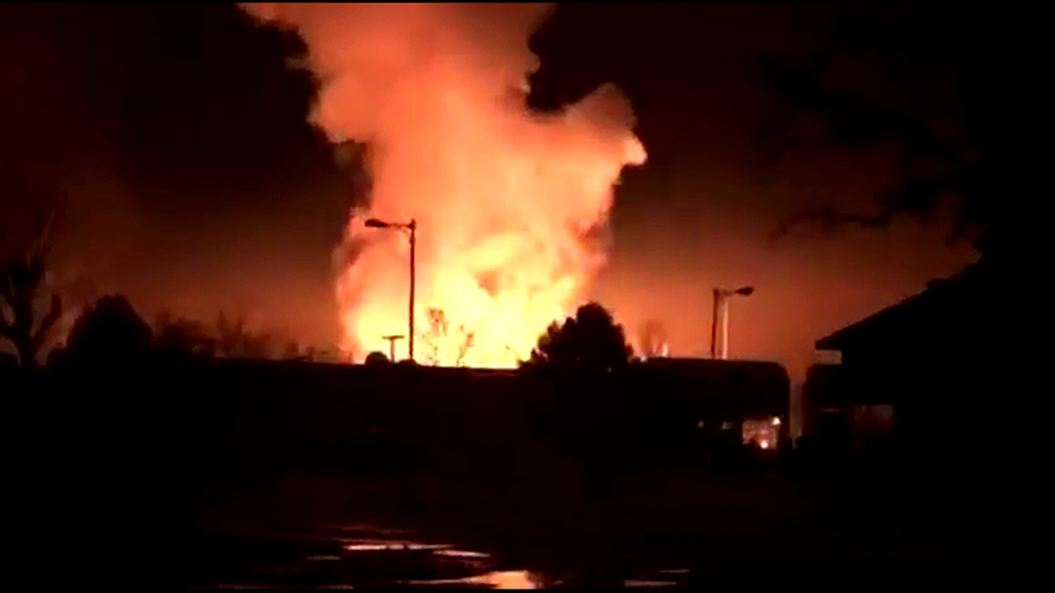 Large explosion at Ephrata substation leaves thousands without power