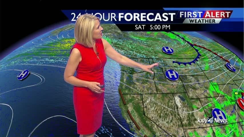 Sunshine and 70s through the Labor Day weekend