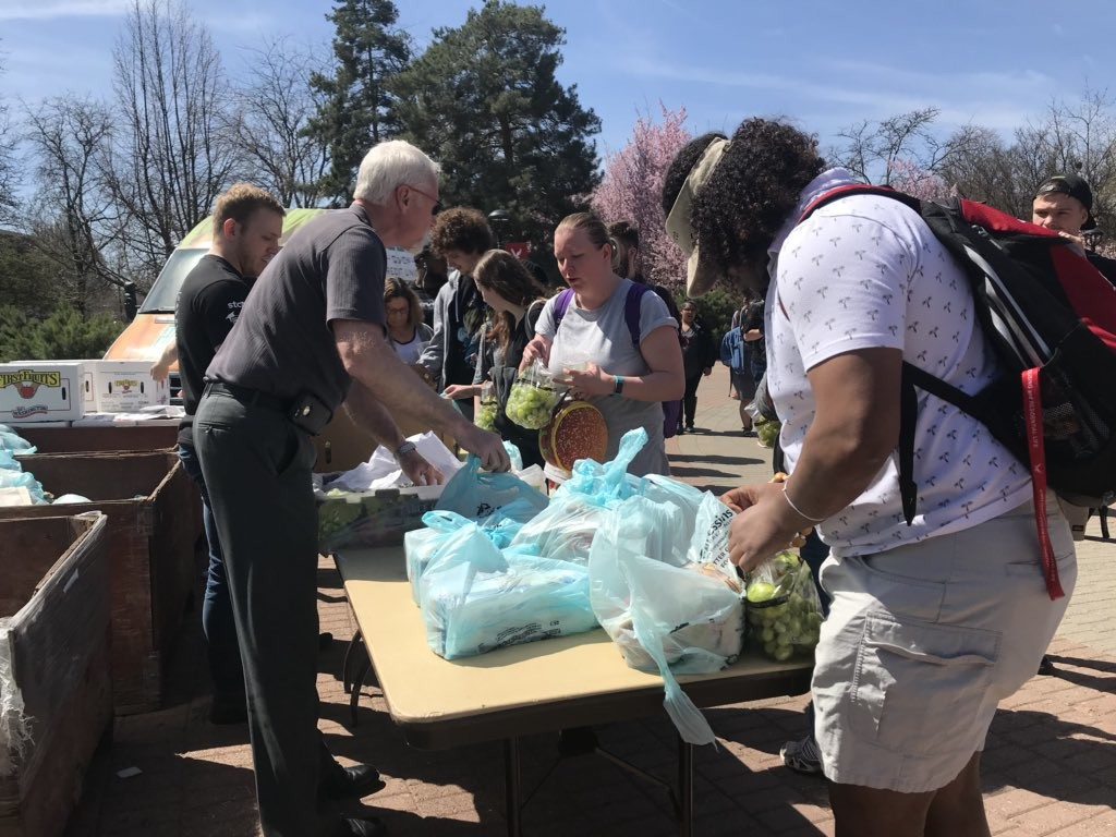 EWU introduces food pantries to end student hunger