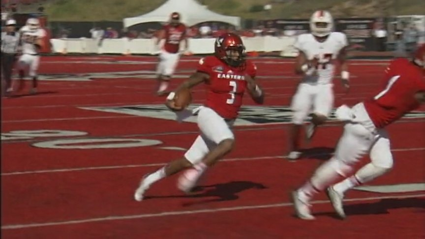 Eagles hang on to beat Idaho State, 56-53