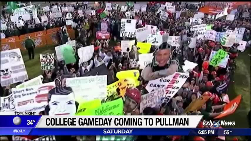 Excitement on campus builds as WSU gears up for College GameDay