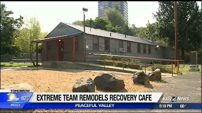 Extreme Team Project underway at Recovery Cafe