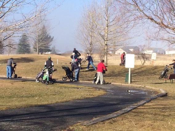 Fairways Golf Course opens early