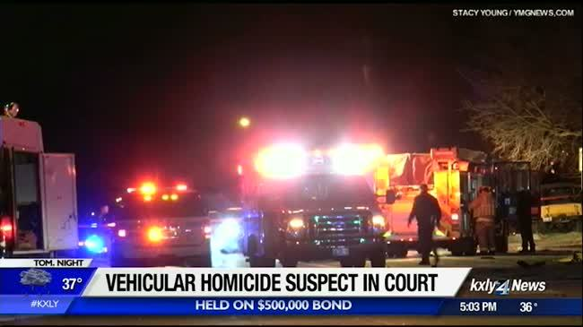 Fatal hit and run suspect pleads not guilty