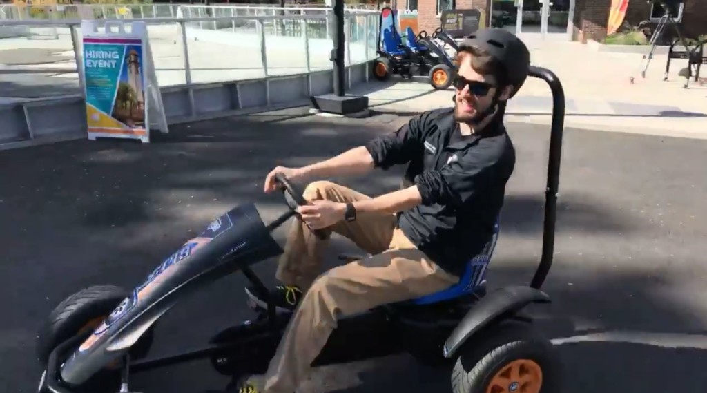New four-wheeled attraction at Spokane Riverfront Park