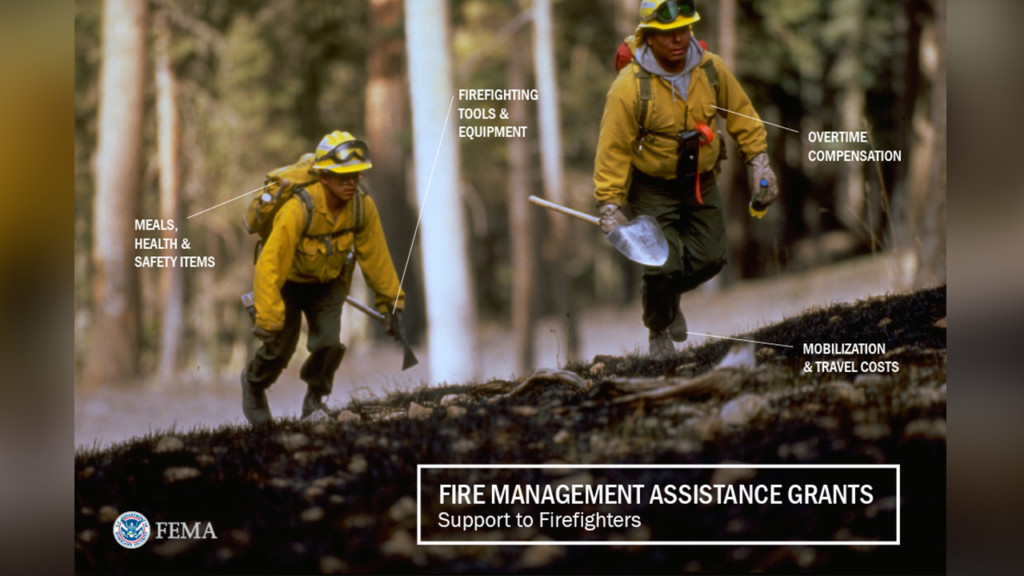 FEMA provides funds to help fight Buckshot Fire