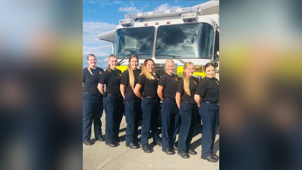 Spokane Co. Fire District 10 has district's first all female shift