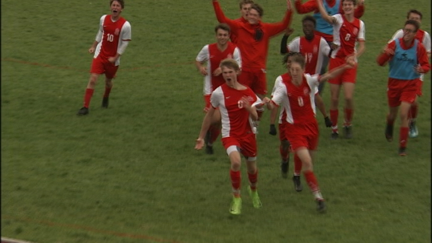 Ferris boys soccer advances to state semifinals in double OT win
