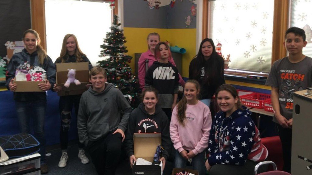 Tonasket students learn important holiday lesson while giving back
