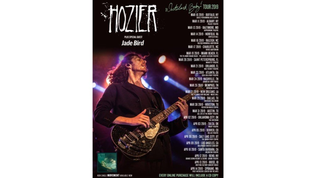 Hozier coming to Spokane on upcoming tour