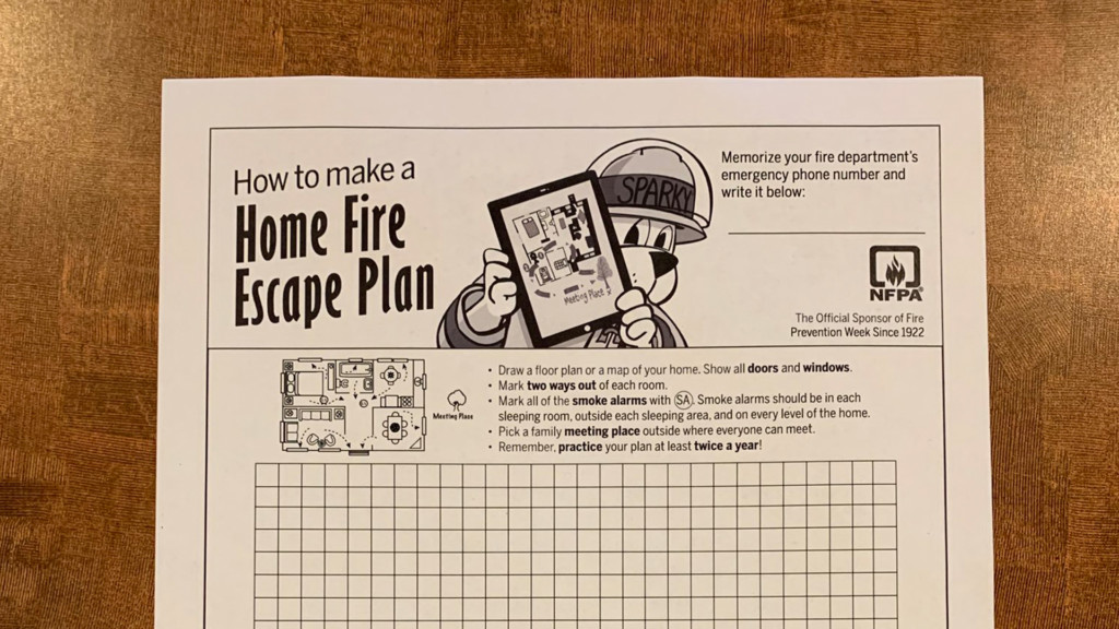 Have a plan to get your family to safety, says Spokane Fire Department