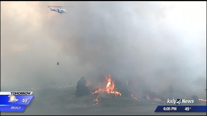 Brush fires in Eastern Washington a reminder that fire season is coming