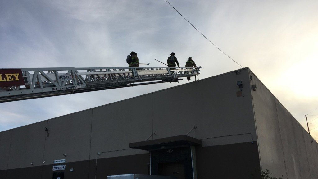 80 employees evacuate safely from Spokane Valley cannabis facility fire