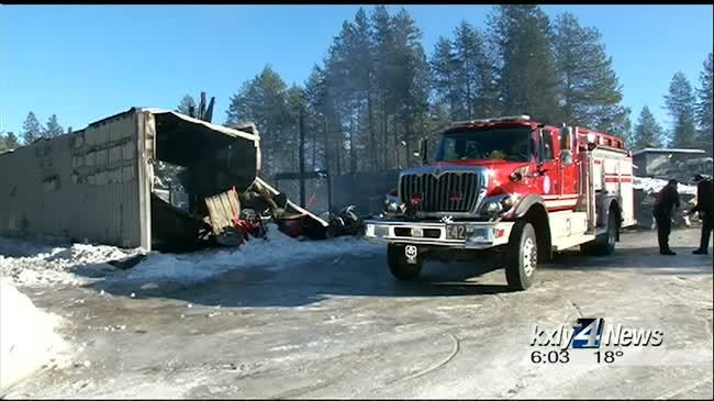 Firefighters battle both flames, extreme cold temperatures