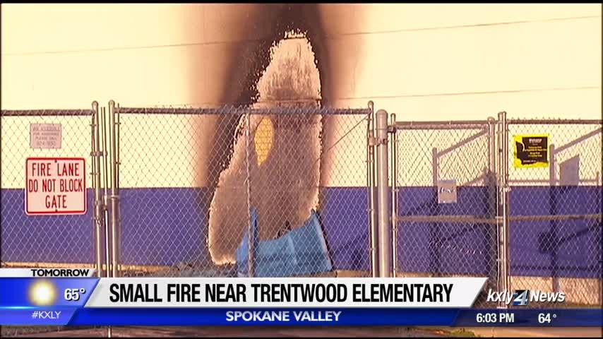 Firefighters extinguish Porta-Potty fire at elementary school