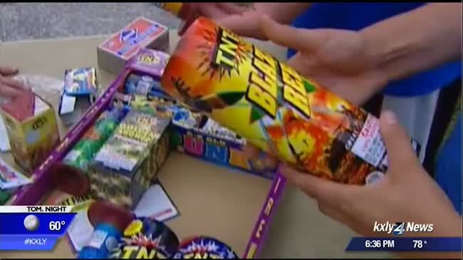 SFD issues reminder that fireworks are illegal