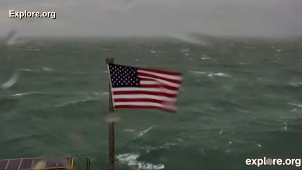 Tattered flag famous from Florence auctioned for Red Cross