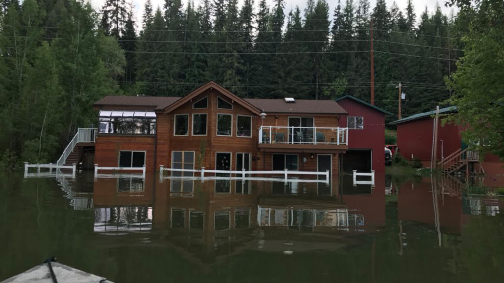 Pend Oreille flooding to get worse, homes already taking on water