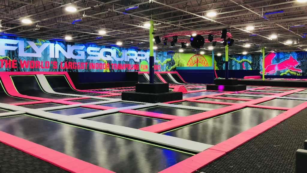 New massive trampoline fun park opens in Spokane Valley