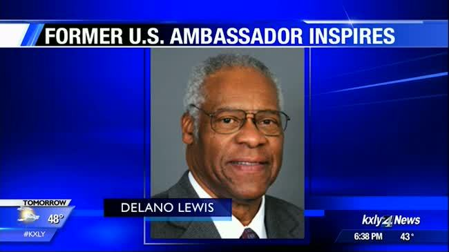 Former U.S. ambassador visits Spokane middle school for Black History Month