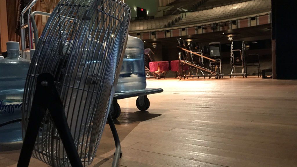Fox Theater drying out after flooding, weekend shows will go on as scheduled