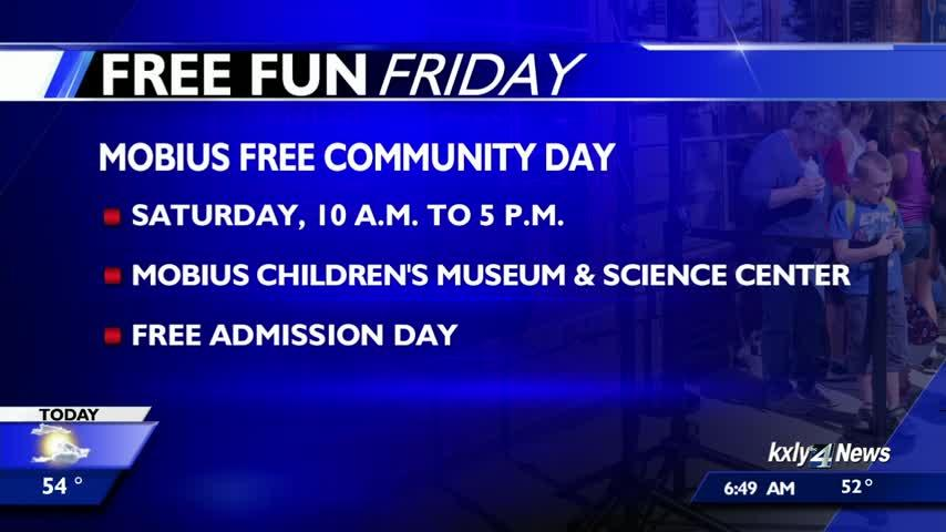 Four free events you can go to this weekend