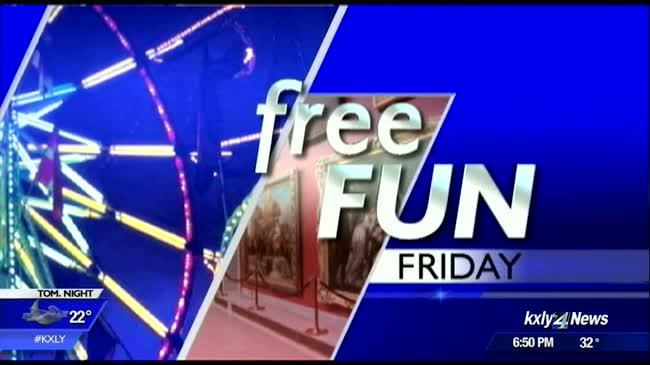 Free Fun Friday events