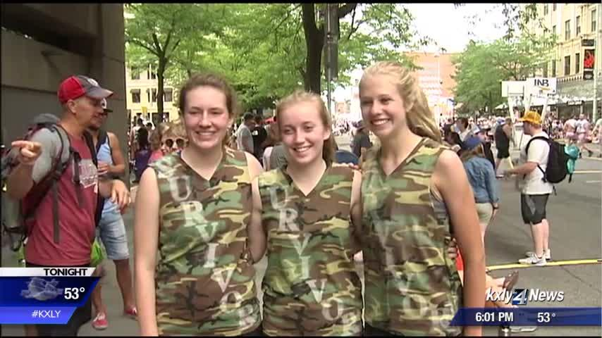 Freeman survivors form Hoopfest team