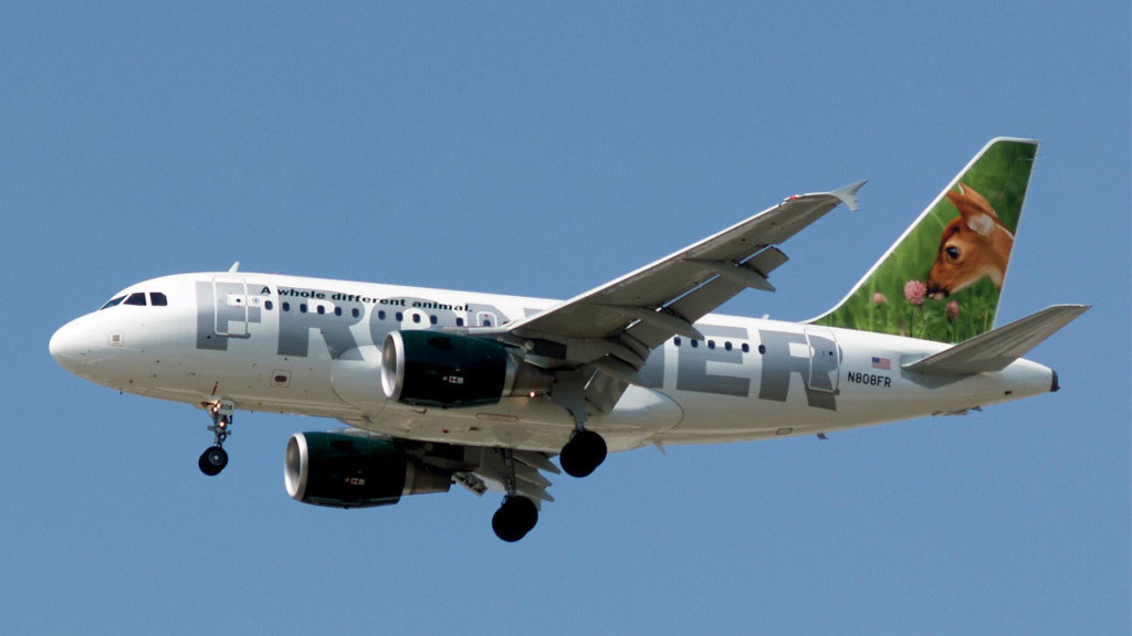 Frontier Airlines begins low cost flights from Spokane to Denver
