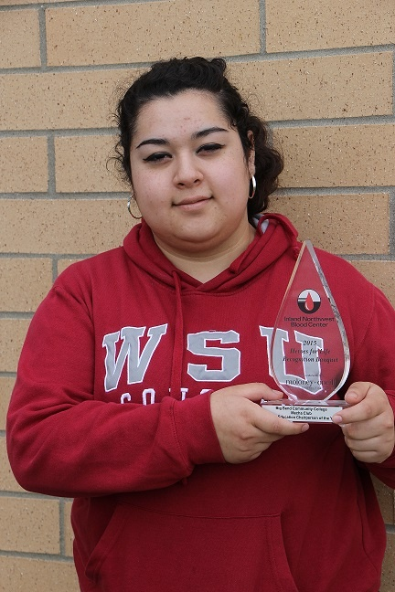 BBCC student receives Heroes for Life award