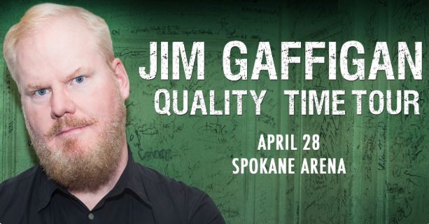 Comedian Jim Gaffigan coming to Spokane Arena in April