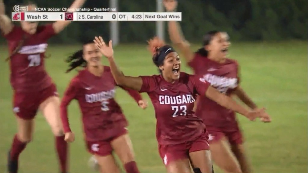 WSU Soccer advances to College Cup for first time in program history