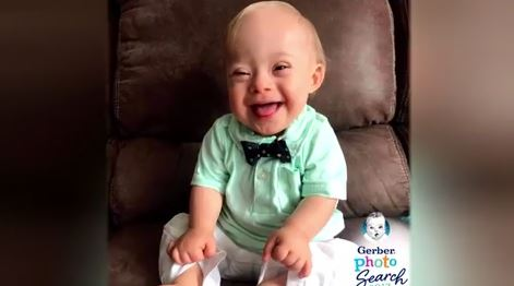 This year's Gerber baby is the first with Down syndrome