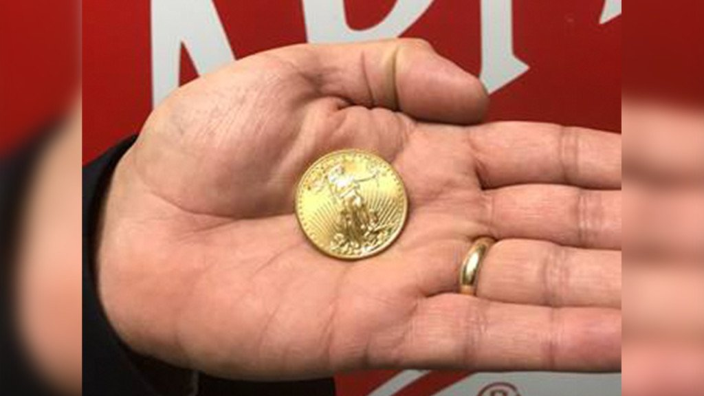 Anonymous donor leaves final gold coin in Salvation Army's red kettle