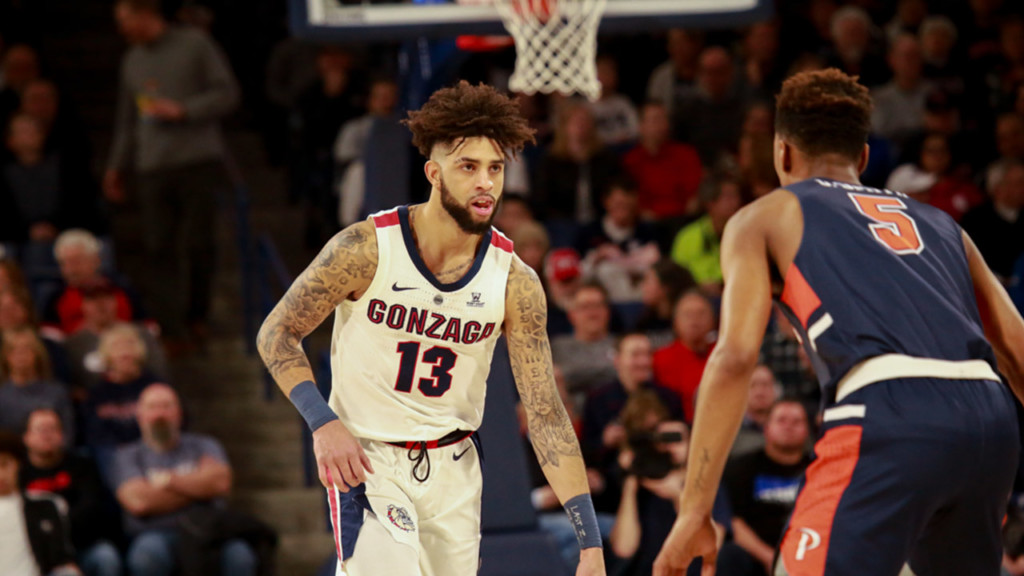 Zags are No. 1 in the West, but wait to find out their first-round matchup