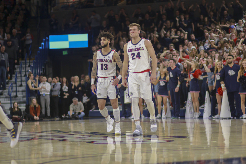 Same matchup, better teams; improved Gonzaga and Florida State rosters square off in 2019