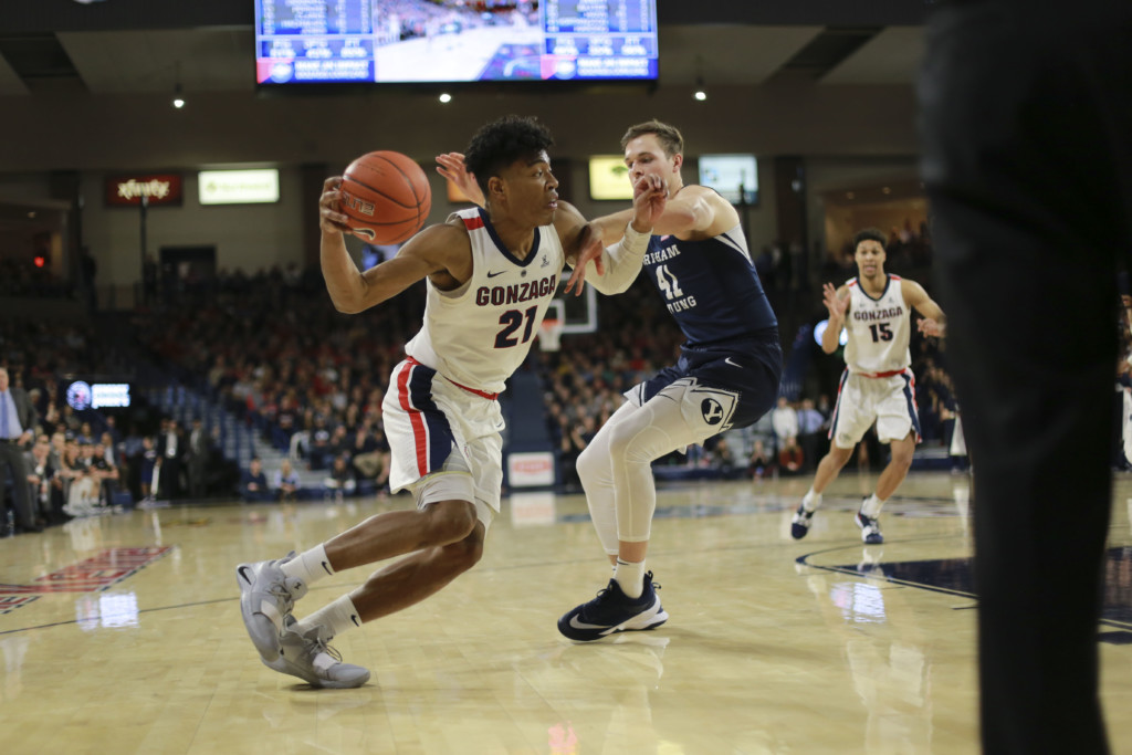 No. 1 Zags stunned in WCC Championship by Saint Mary's, lose 60-47