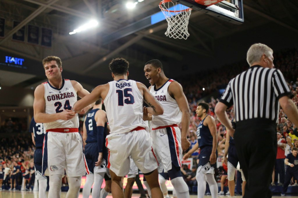 Gonzaga earns No. 1 seed in the West Region