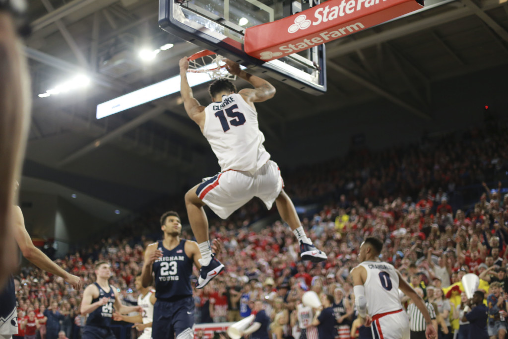 WCC bracket released, Zags will be top seed