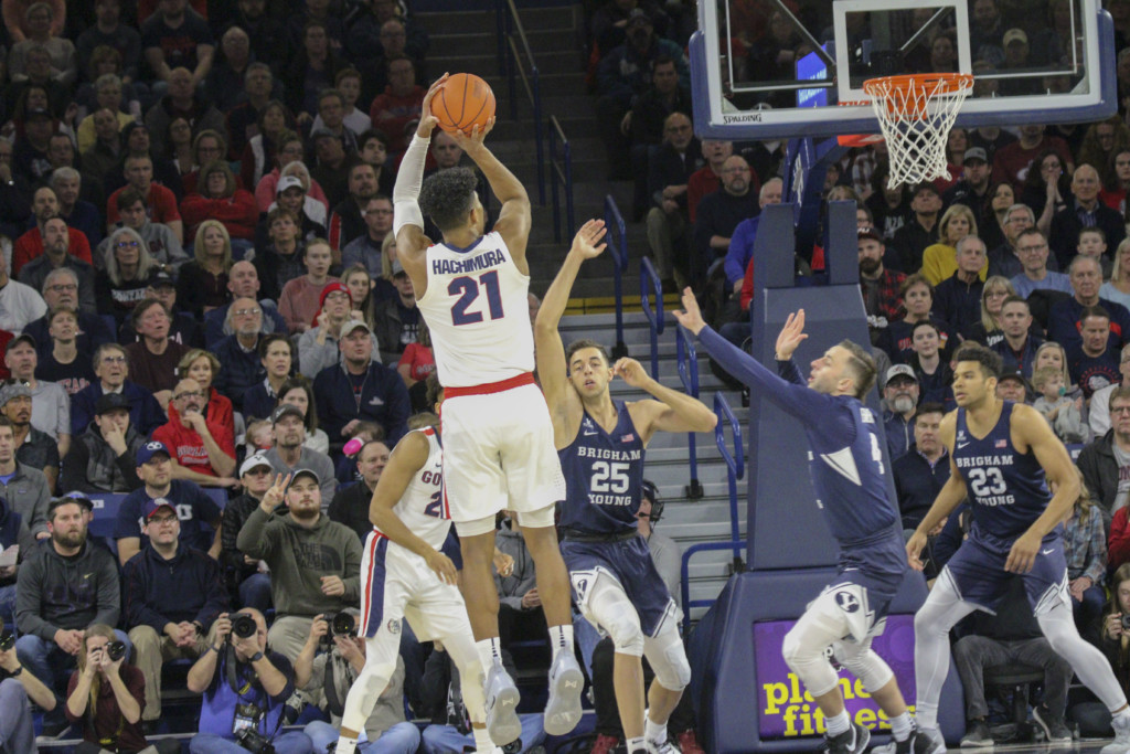 Watch the Zags game on the big screen for free at local theaters