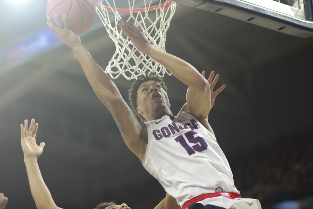 Perfect in the WCC: No. 1 Gonzaga caps undefeated conference season with win at Saint Mary's