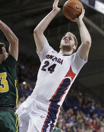 Zags pull away to beat Dons, 88-57